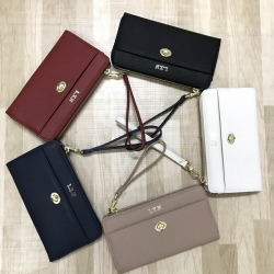 LYN Carlston Long Wallet Free ถุงผ้า มี 5 สีให้เลือกค่ะ