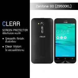 ฟิล์มกันรอย Zenfone GO 5.0 (ZB500KG / ZB500KL) แบบใส