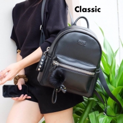 KEEP Leather classic backpack