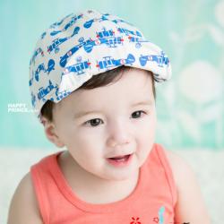 HT372••หมวกเด็ก•• / หมวกแก็ปเครื่องบิน (สีขาว)