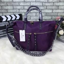 ROSE Noire Zipper Crossbody Bag