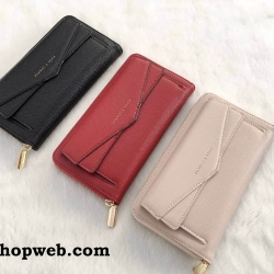 CHARLES & KEITH DUO-CLOSURE WALLET 2017 OUTLET