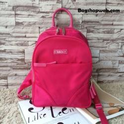 กระเป๋า Kipling Amory Medium Casual Shoulder Backpack Limited Edition สีชมพู 1,890 บาท Free Ems