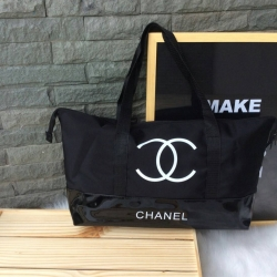 Chanel Beaute Black Sequin Shopping Bag กระเป๋าพรีเมี่ยมกิ้ฟ Limited Edition