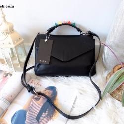 กระเป๋า ZARA STRAP DETAIL CITY BAG ราคา 1,290 บาท Free Ems