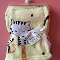 BK077••ผ้าห่มเด็ก•• / ลายเสือ (นาโน)