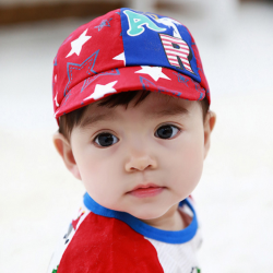 HT368••หมวกเด็ก•• / หมวกแก็ป STAR (สีแดง)
