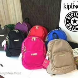 กระเป๋า KIPLING NYLON BACKPACK กระเป๋าสะพายเป้ขนาดมินิ สไตล์ลำลองน้ำหนักเบา วัสดุ Nylon + Polyester 100%