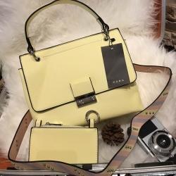 Zara City Bag With Purse