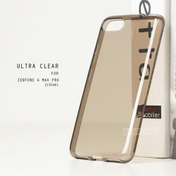 เคส Zenfone 4 Max Pro (ZC554KL) เคสนิ่ม ULTRA CLEAR พร้อมจุดขนาดเล็กป้องกันเคสติดกับตัวเครื่อง สีดำใส