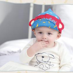 HT332••หมวกเด็ก•• / หมวกแก็ป Monkey (สีแดง)