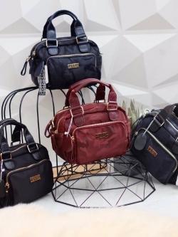 KEEP SOFY Military Nano Nylon Shoulder Bag 2018