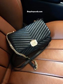 กระเป๋า Topshop Shoulder Bag With Chain Black ราคา 1,190 บาท Free Ems