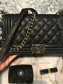 KEEP shoulder Luxury Quited bag Chanel boy Ems Free
