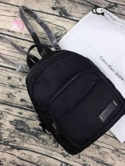Calvin Klein Nylon Mini Backpack 2018 *สินค้า outlet free ถุงผ้า