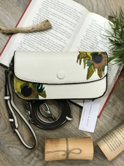 CHARLES & KEITH VAN GOGH SunFlower Painting Inspried Collection 2018