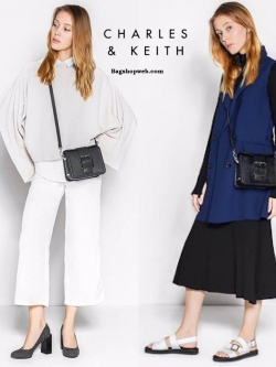 กระเป๋า CHARLES & KEITH OVERSIZED BUCKLE CROSSBODY BAG ราคา 1,390 บาท Free Ems