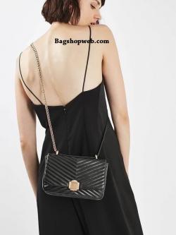 Topshop OBI Quilted Crossbody Bag