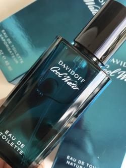 Davidoff Cool Water EDT For Men Perfume Counter brand แท้ 40 ML