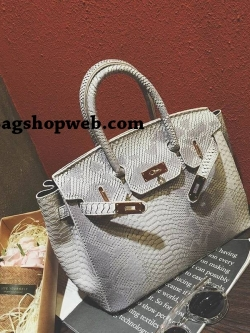 Fashion Leather Crocodile Birkin Luxury Handbags 2017