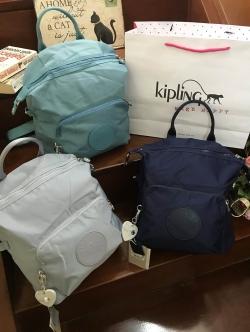 Kipling Naleb Backpack มี 3 สีให้เลือกค่ะ