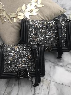 KEEP shoulder diamond chain bag มี 2 ขนาดให้เลือกนะคะ