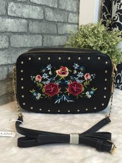 ALDO FLOWER CROSSBODY BAG