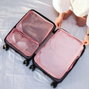 """(ขนาด M) ที่จัดกระเป๋าเดินทาง 3 in 1 ใช้แบบแยก หรือรวมกันได้ สำหรับกระเป๋าเดินทางขนาด 18"""" - 19"""" และ 24"""" - 28"""""""