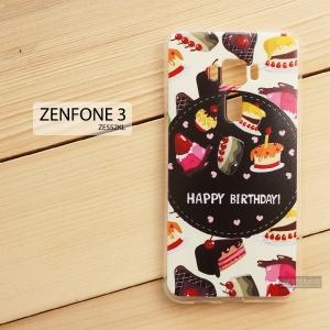เคส Zenfone 3 5.5 นิ้ว (ZE552KL) เคสนิ่ม TPU พิมพ์ลาย แบบที่ 8