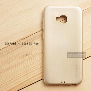 เคส Zenfone 4 Selfie Pro (ZD552KL) เคสนิ่มผิวเงา (MY COLORS) สีทอง