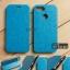 เคส Zenfone Max Plus (M1) เคสหนัง + แผ่นเหล็กป้องกันตัวเครื่อง (บางพิเศษ) สีฟ้า thumbnail 1
