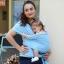 ผ้าอุ้มทารก เป้ผ้าอุ้มเด็ก Moby Wrap เบาสบาย กระจายน้ำหนัก thumbnail 22