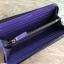 Calvin Klein Blue Long Wallet With Box thumbnail 7