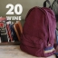 Anello 2 Line Cotton Rucksack Colourful Collection มีให้เลือกหลายสีค่ะ thumbnail 7