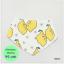 ผ้าซับน้ำลายสามเหลี่ยม ผ้ากันเปื้อนเด็ก [ผืนเล็ก] / Pears thumbnail 1