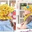 Set หมวกเด็กอ่อน+ผ้ากันเปื้อนสามเหลี่ยม Yummy Vegetable วัย 3-24 เดือน thumbnail 13