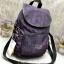 Kipling backpack17 printed shoulde (k12075) มี 3 สีให้เลือกนะคะ *สินค้า outlet thumbnail 2