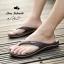 รองเท้าแตะหูหนีบไซส์ใหญ่ 42 ชาย/หญิง สีน้ำตาล รุ่น KR0702 thumbnail 3
