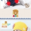 หมวกเด็กอ่อนไหมพรม Tianyi Bear ดีไซน์เปียทวิตไหมสองข้างน่ารักโดดเด่น thumbnail 5
