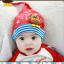 HT195••หมวกเด็ก•• / [สีแดง] นกฮูก thumbnail 5