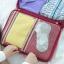 กระเป๋าจัดระเบียบ Travel Luggage Organizer เสียบที่จับของกระเป๋าเดินทางได้ มีช่องใส่สองชั้นกั้นด้วยช่องตาข่าย ผลิตจากโพลีเอสเตอร์กันน้ำ thumbnail 16