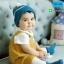 HT282••หมวกเด็ก•• / ไหมพรมสีพื้น [สีฟ้า] thumbnail 1