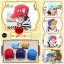 หมวกแก๊ป หมวกเด็กแบบมีปีกด้านหน้า ลายแลบลิ้น (มี 5 สี) thumbnail 1