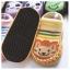ถุงเท้ารองเท้า มีกันลื่น เนื้อผ้านุ่มนิ่ม สำหรับเด็กวัย 0-2 ปี ลายสิงโตสีเหลือง thumbnail 2