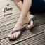 รองเท้าแตะหูหนีบไซส์ใหญ่ 42 ชาย/หญิง สีน้ำตาล รุ่น KR0702 thumbnail 2