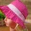 หมวกเด็กหญิง วัย 6-24 เดือน ลายจุด มีระบาย น่ารัก thumbnail 6