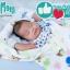 หมอนกันกรดไหลย้อน หมอนกันแหวะนม หมอนหนุนหัวสูง Baby Acid Reflux Pillow MumMom สีฟ้า thumbnail 6