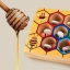 ของเล่นไม้ รังผึ้งสอนจับคู่สี การนับจำนวน ฝึกการคีบ thumbnail 7
