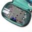 กระเป๋าใส่เครื่องประดับ จัดเก็บสร้อยข้อมือ ต่างหู แหวน สร้อยคอ กำไล นาฬิกา คุณภาพสูง (Green) thumbnail 5