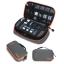 กระเป๋าใส่อุปกรณ์อิเล็กทรอนิกส์ สำหรับใส่อุปกรณ์ไอทีทุกชนิด มีสองชั้น ช่องเยอะพิเศษ มีหูหิ้วพกพาสะดวก (เทา-ส้ม) thumbnail 20